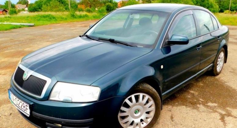 Škoda Superb I 1.9TDI 96kW Classic